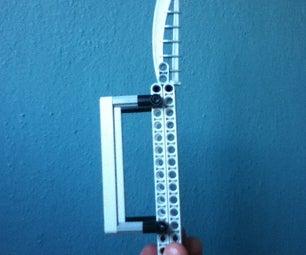 Lego Brass Knuckle Butterfly Knife
