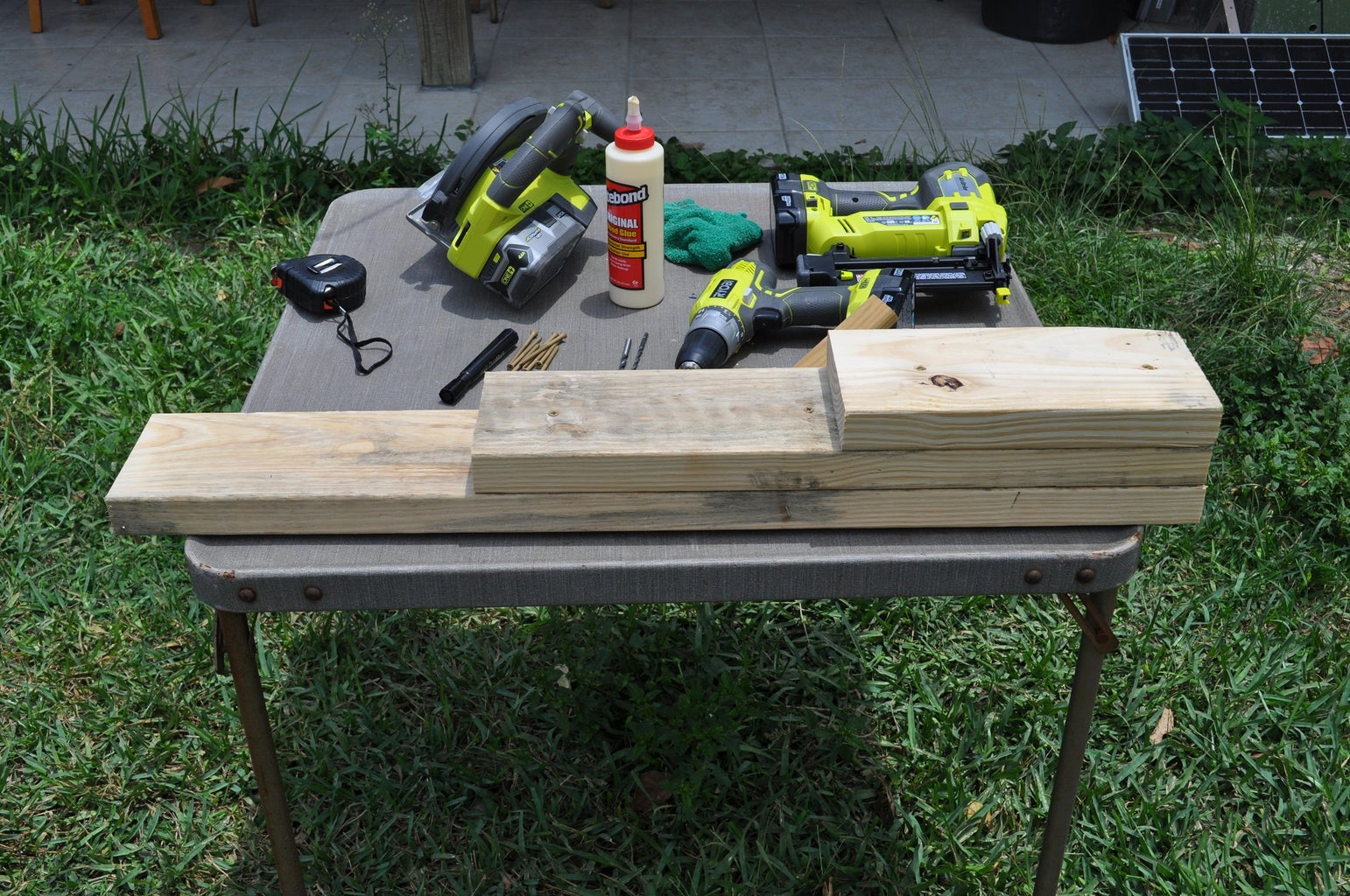 Assemble the Three Planks