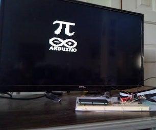 Arduino TVout Pi Day Logo