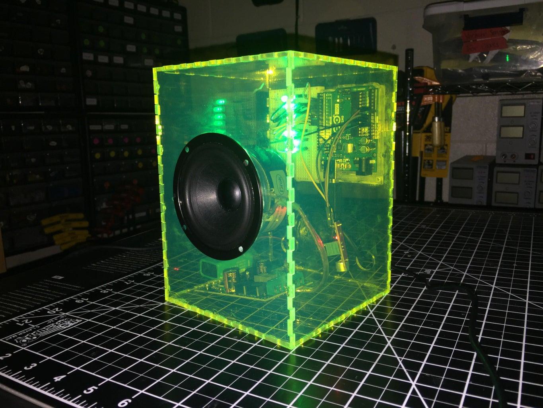 Light-Up LED Speakers