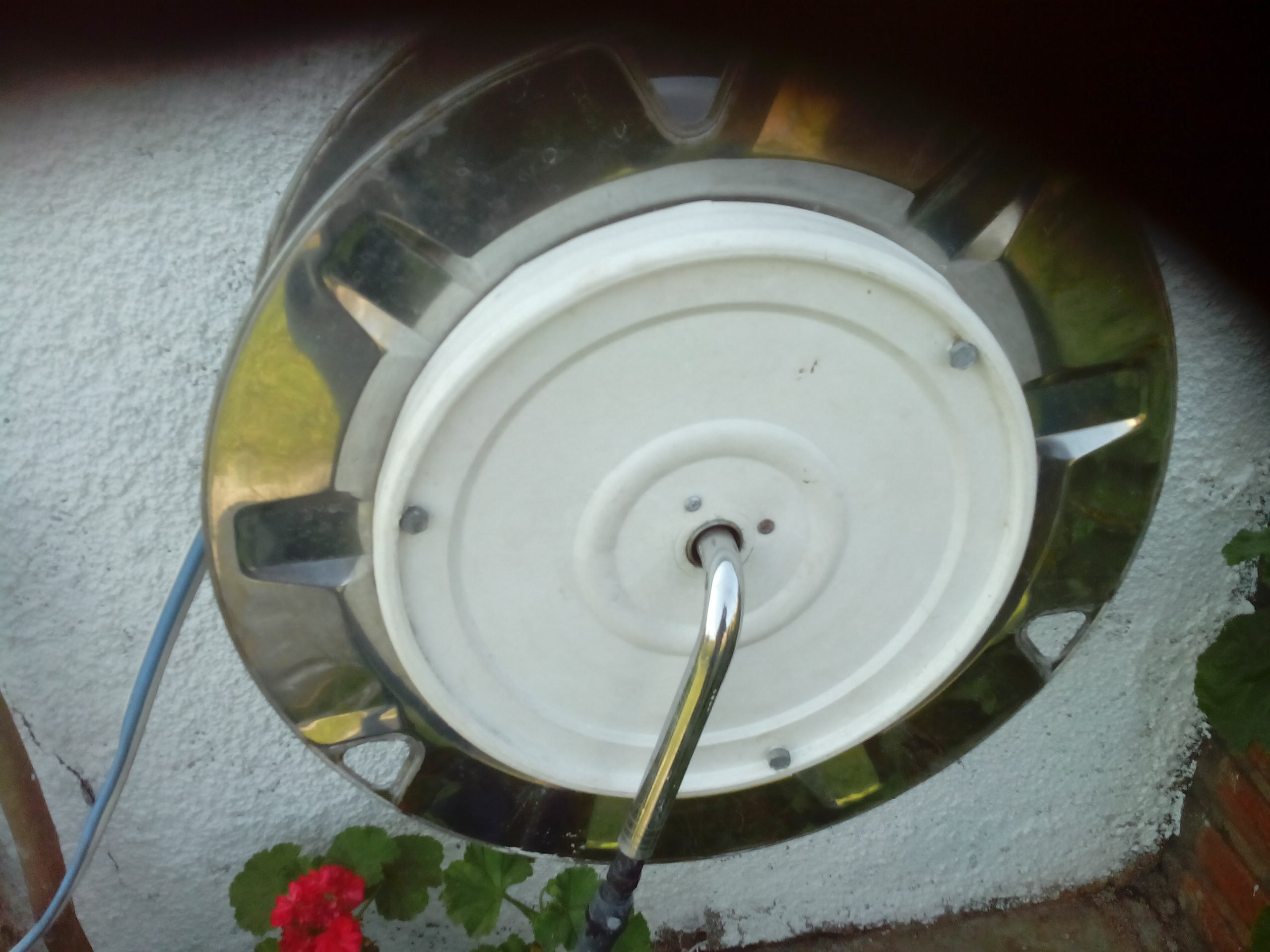 Hose Reel From Washing Machine Drum and Paint Bucket