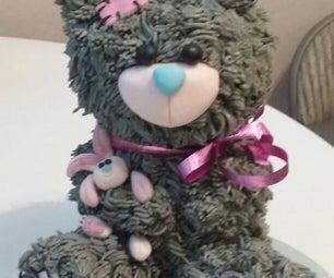 Teddy Bear 3D Cake