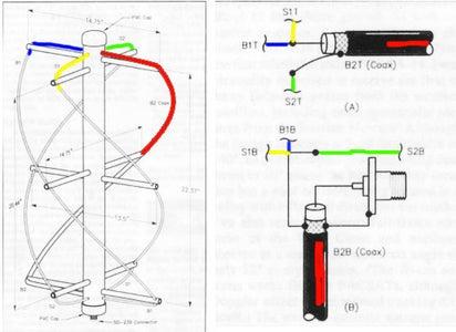 QFH Antenna - Wiring