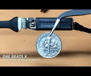 Dre BeatsX - Battery Replacement