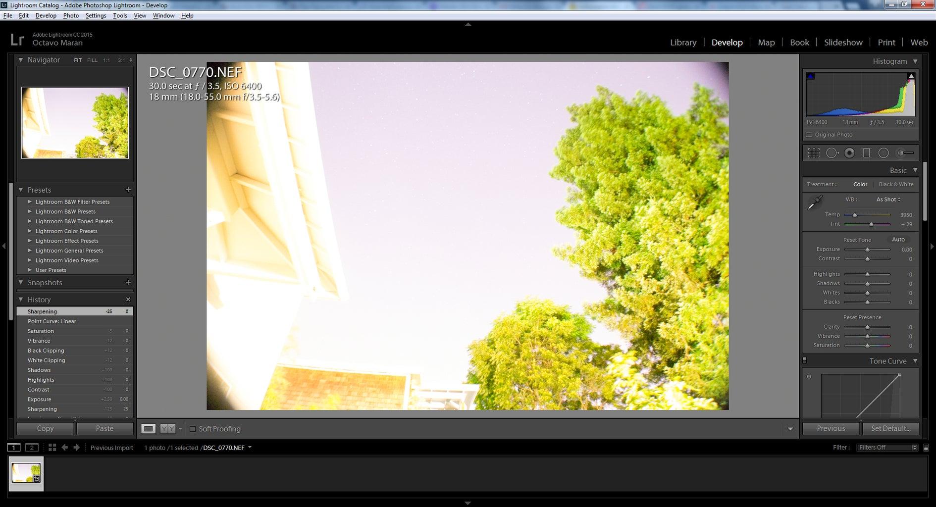 Bring the Photos Into Adobe Lightroom to Edit.