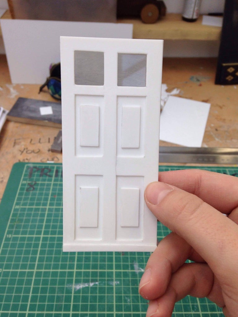 Cutting Out the Door