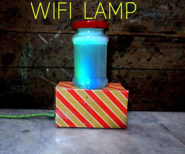 Wi-Fi Lamp (Change Brightness and Colors)