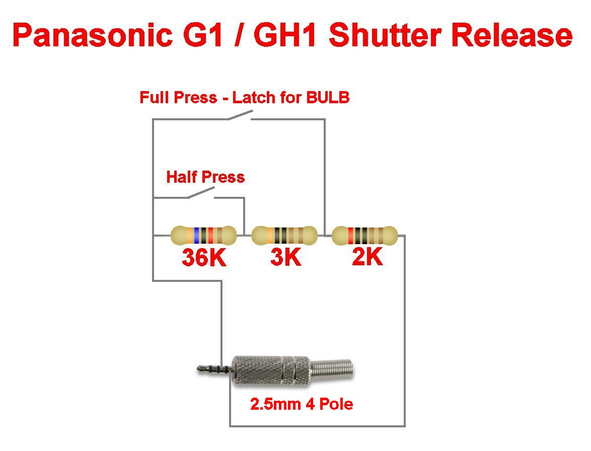 Panasonic G1 / GH1 Remote Shutter Release