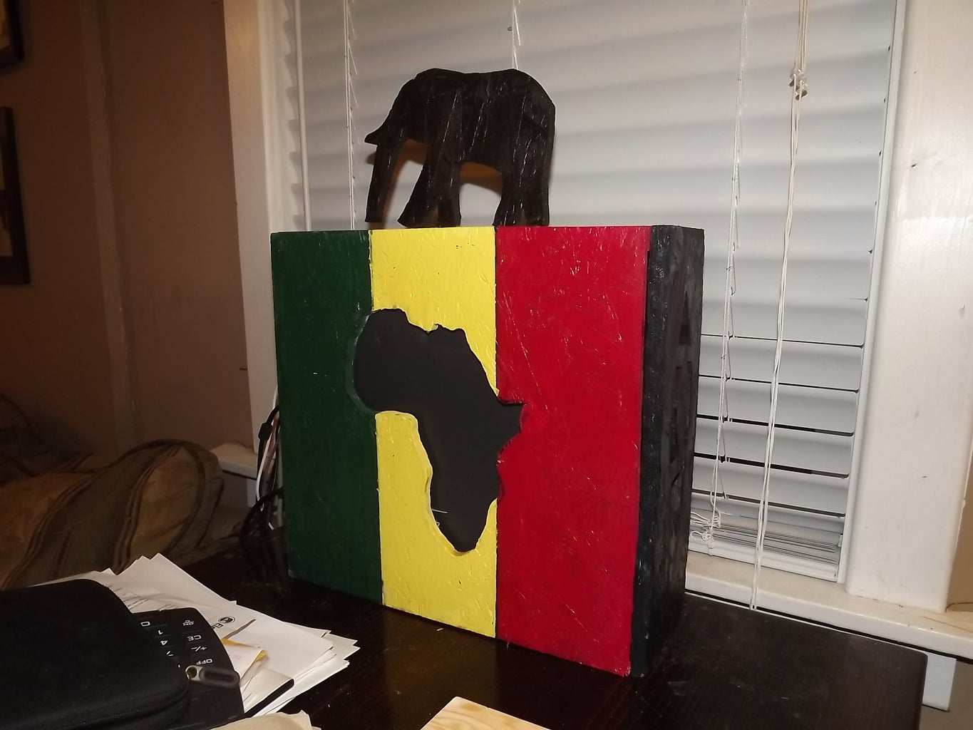 Computer Mod Cover African