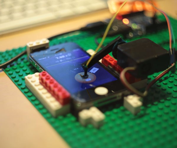 Clicker Cheater for IPhone Arduino From the Cucumber Clicker Maker