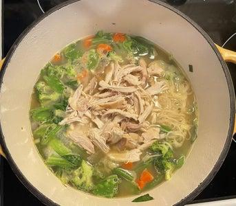 Add Chicken & Coconut Milk