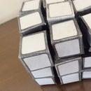 Paper 3x3x3 Rubik's Cube