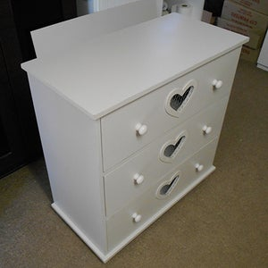 Make a Chest of Drawers With Heart Cut Out
