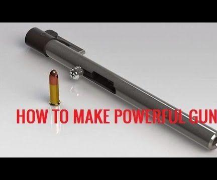 Make Powerful Pen Gun in Less Than 2 Minutes