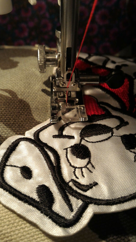 Sew on Embroidery.