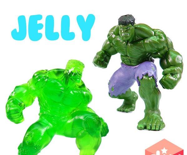 How to Make Gummy Hulk !! DIY Avengers Hulk Jelly - With Hulkbuster