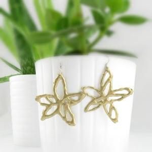 Video Tutorial Easy Spring Flower Earrings