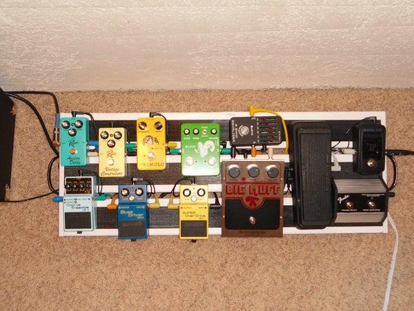 Guitar Pedal Board UNDER $40!!!