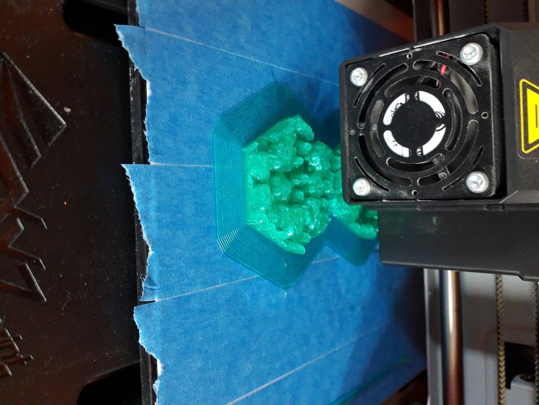 Afwerken Van De GeoMap : 3D - Printen Van Onderdelen