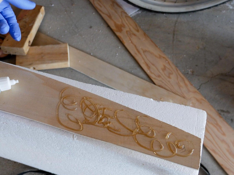 Glue the Stringer - Part 1