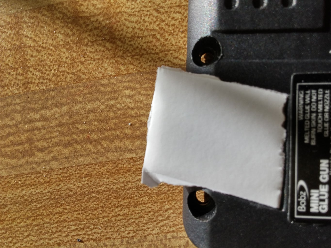 The Glue Gun :covering Up and Electronics