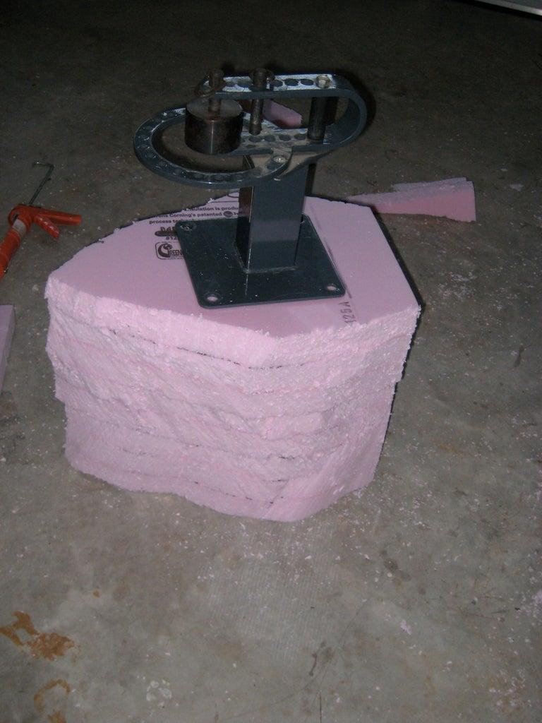 Yoshi Head (Glue Styrofoam)
