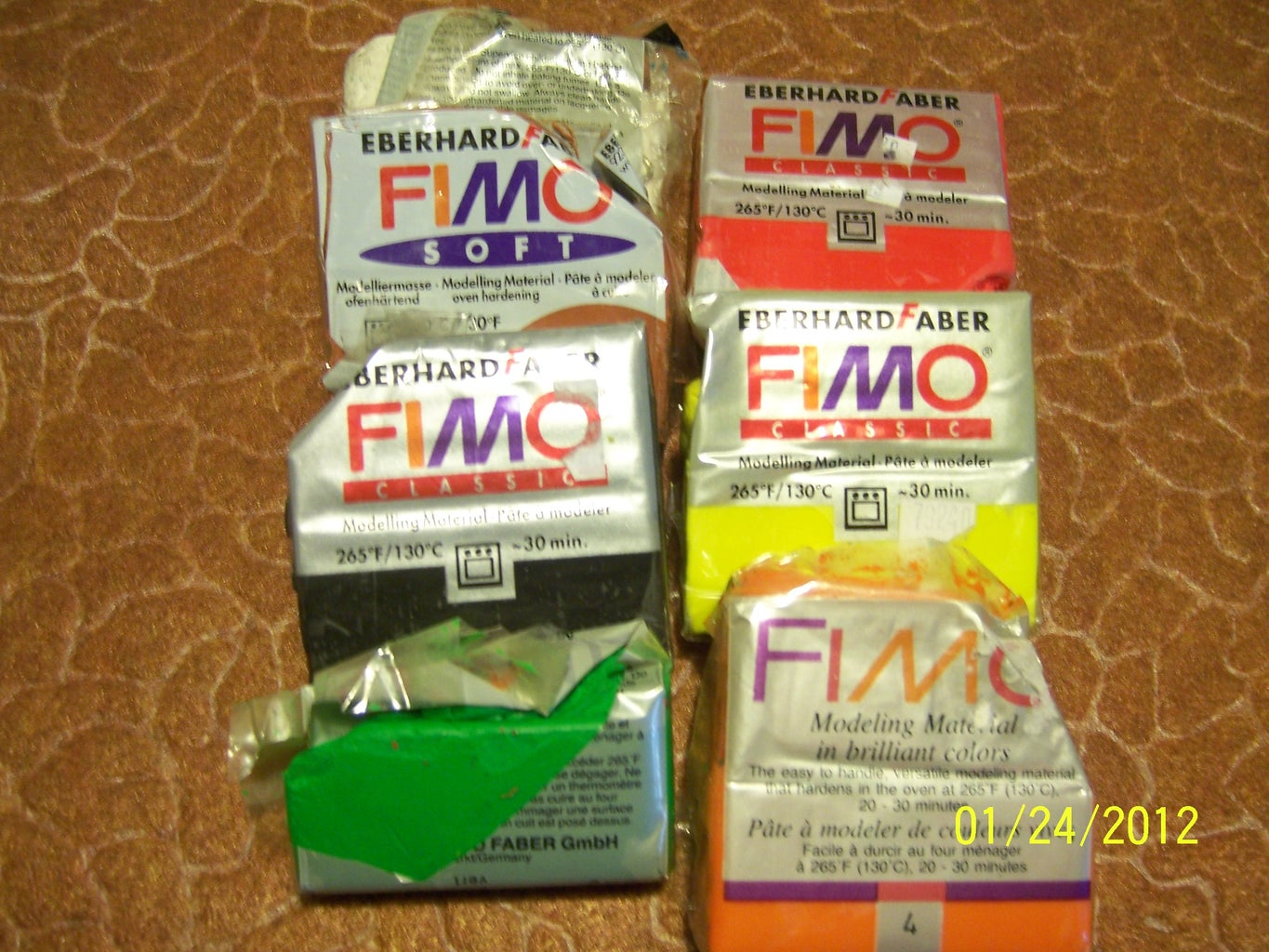 Get Some FIMO Sculpting Clay