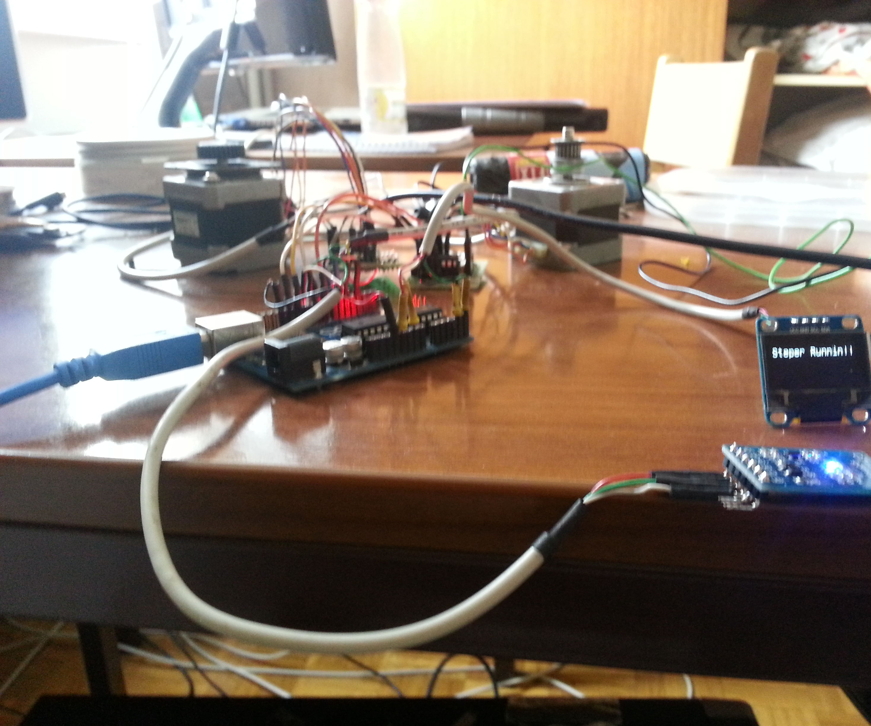 Connect stepper motor to arduino