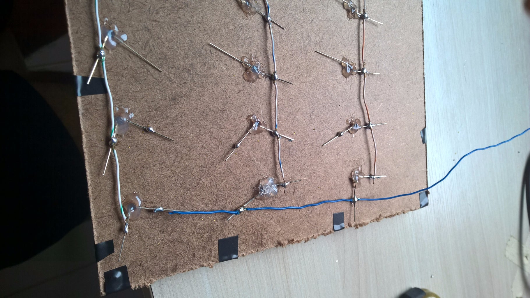 Connecting the LEDs
