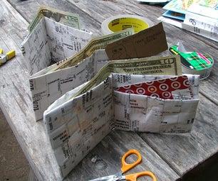 Cash Register Receipt Wallet