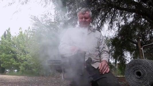 Lighting the Smoker