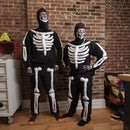 Skeleton Sweatsuit Halloween Costume