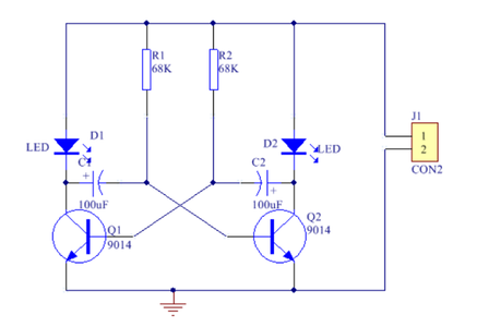 Explain How Astable Multivibrator Works