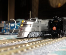 Automated Model Railroad Layout Running Two Trains (V2.0) | Arduino Based