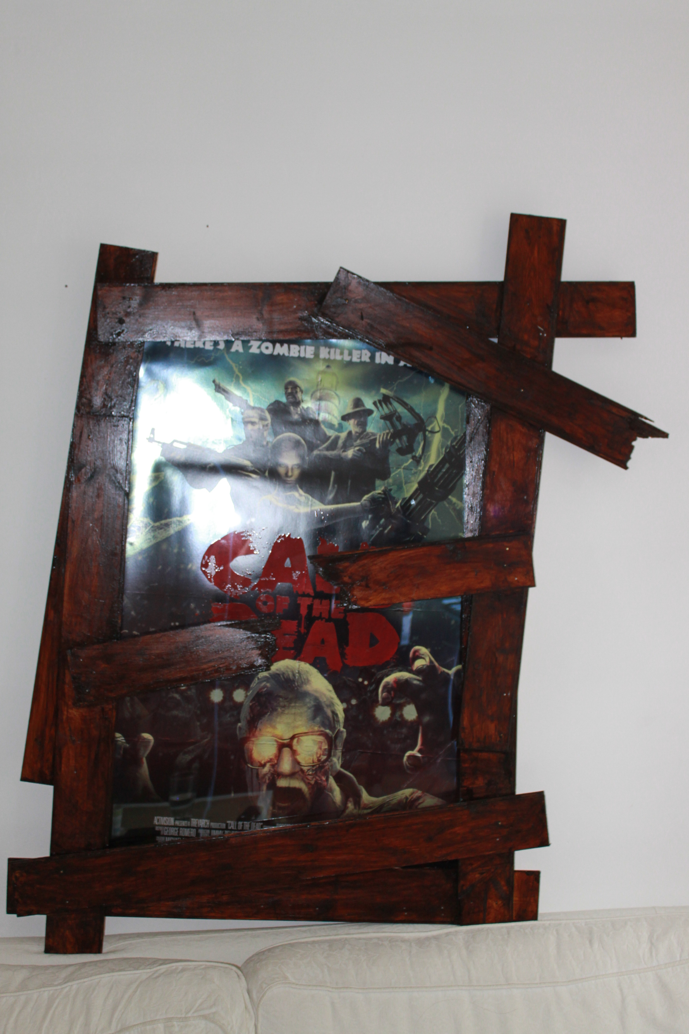 Frame for Call of Duty 'Zombies' poster