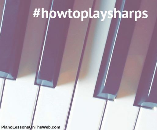 How to Read Notes With Sharps - for Beginners