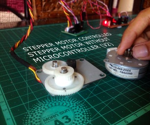 Stepper Motor Controlled Stepper Motor Without Microcontroller(V2)