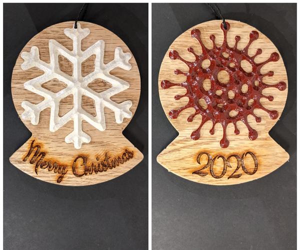 2020 Coronavirus Themed Ornament