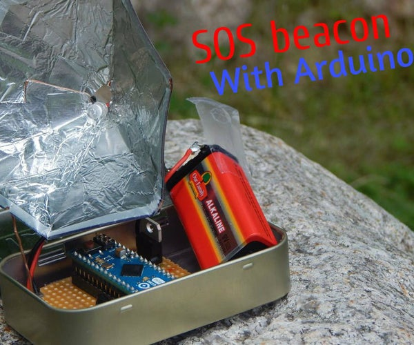 Emergency SOS Beacon With Arduino