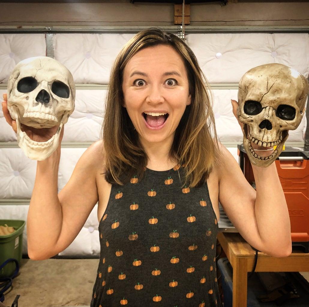 Aging the Skull!