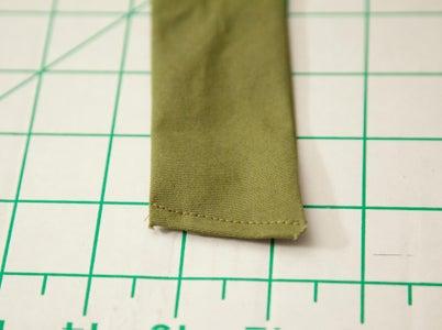 Cut, Sew, Attach the Strap