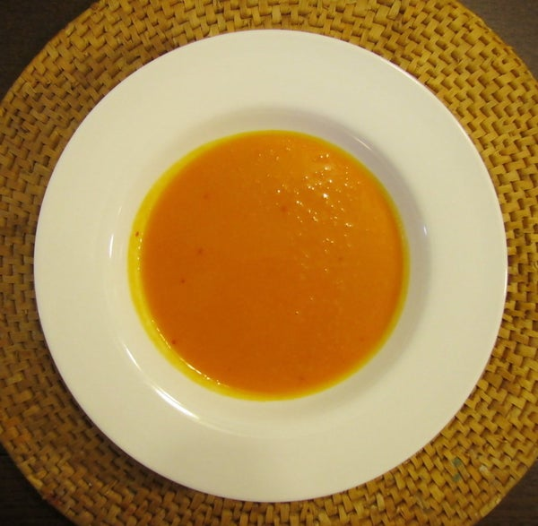 Red Curry Butternut Squash Soup