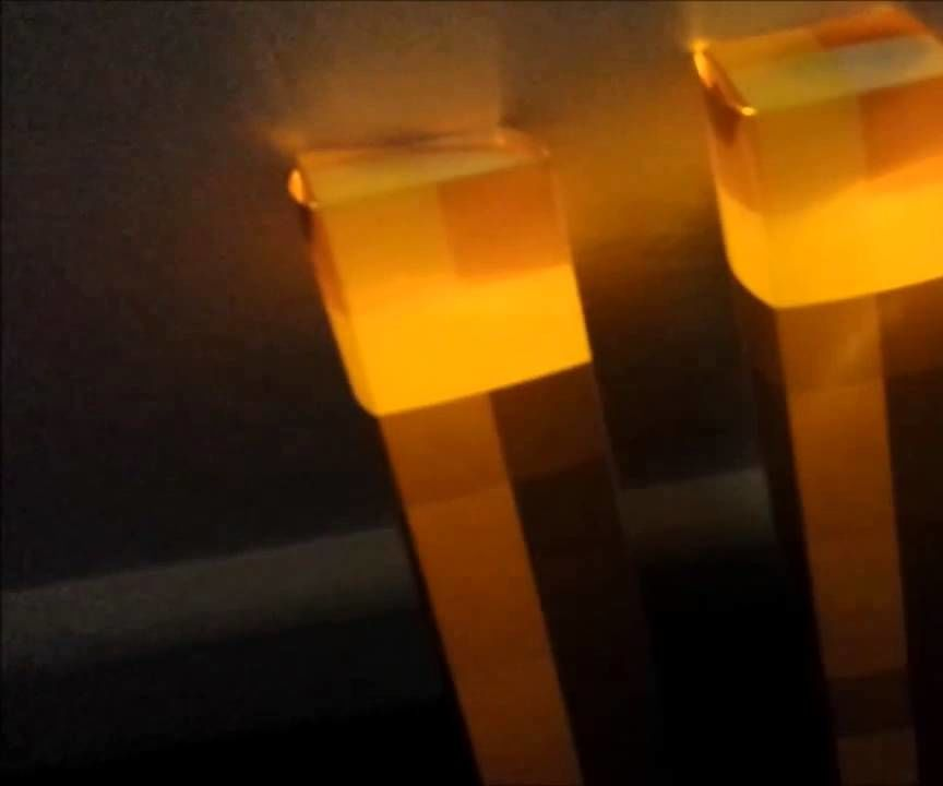 MineCraft Light Up Torch