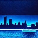 LED Backlit Skyline