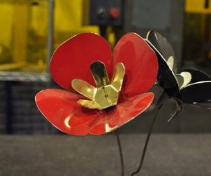 3D Metal Flowers