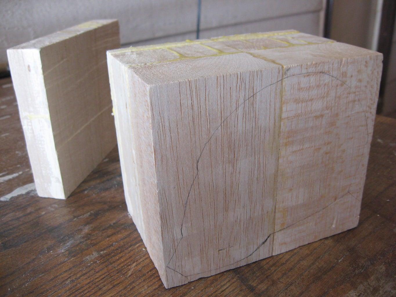 Balsa Block Glue-up