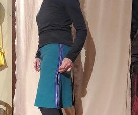 One Hour Zippered Skirt