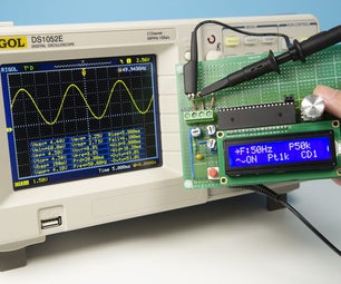 DIY Function Generator With STC MCU Easily