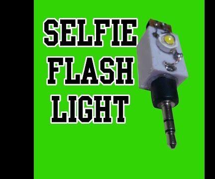 How To Make Selfie Flash Light
