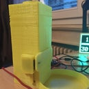 Turb'O'Croquettes - 3D Printed Interactive Cat Food Dispenser